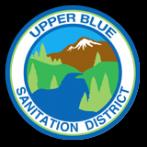 Upper Blue Sanitation District Header Logo